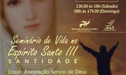 SEMINÁRIO DE VIDA NO ESPIRÍTO SANTO III