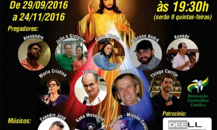 G.O. São Paulo São Pedro organiza Novena da Misericórdia
