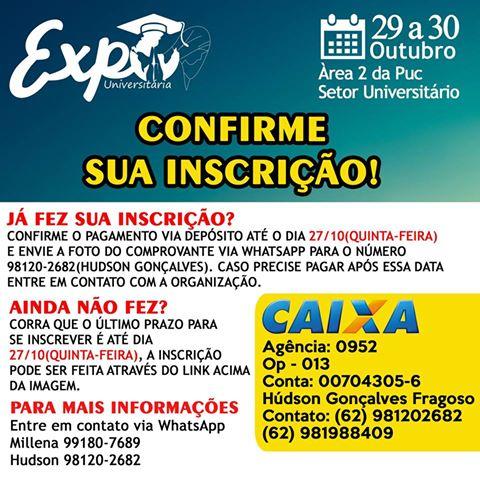 MUR Goiânia organiza II Expouniversitária