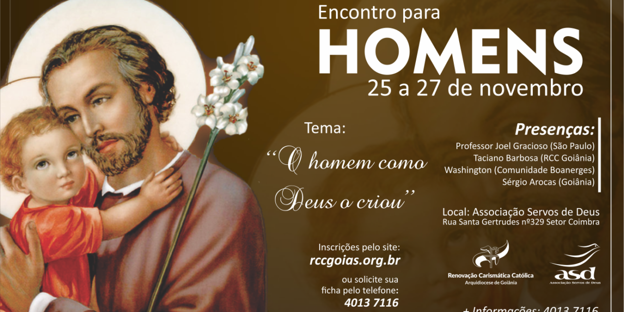 Encontro para Homens na Arquidiocese de Goiânia