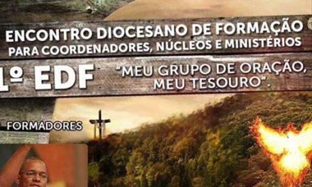 1º EDF ENCONTRO DIOCESANO DE FORMAÇÃO – DIOCESE DE LUZIÂNIA