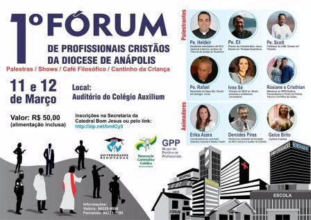 1º Fórum de profissionais cristãos