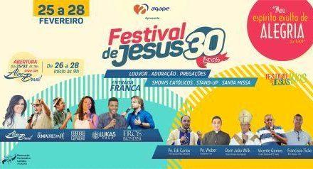 Festival de Jesus 30 Anos – Diocese de Anápolis