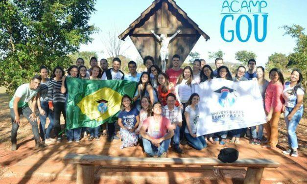 Prosseguir decididamente: Acampgou renova e estimula universitários da diocese de Anápolis