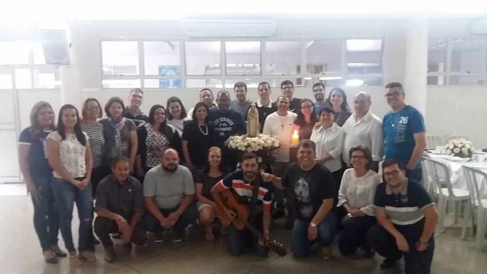 Assembleia Estadual da RCC Goiás é realizada e Vicente Machado é reeleito para coordenar o movimento no biênio 2018-2019!